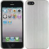 Hardcase iPhone 5 / 5s / SE Metallic silber