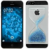 Hardcase iPhone 5 / 5s / SE Sanduhr blau-weiß