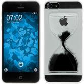 Hardcase iPhone 5 / 5s / SE Sanduhr schwarz