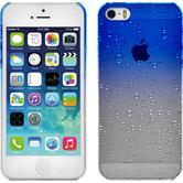 Hardcase iPhone 5 / 5s / SE Waterdrops blau