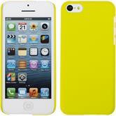 Hardcase iPhone 5c gummiert gelb