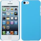 Hardcase iPhone 5c gummiert hellblau