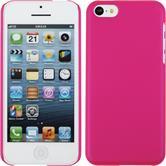 Hardcase iPhone 5c gummiert pink