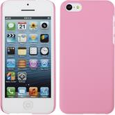 Hardcase for Apple iPhone 5c rubberized pink