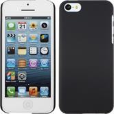 Hardcase iPhone 5c gummiert schwarz