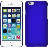 Hardcase iPhone 6s / 6 gummiert blau