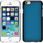 Hardcase iPhone 6s / 6 Lederoptik blau