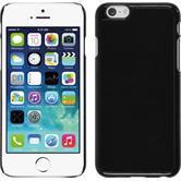 Hardcase iPhone 6s / 6 Lederoptik schwarz