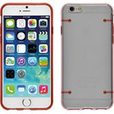 Hardcase iPhone 6s / 6 transparent rot