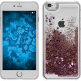 Hardcase iPhone 6 Plus / 6s Plus Stardust rosa + 2 Schutzfolien
