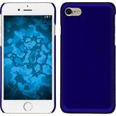 Hardcase iPhone 7 gummiert blau