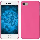 Hardcase iPhone 7 gummiert pink