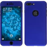 Hardcase iPhone 7 Plus 360° Fullbody blau