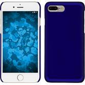 Hardcase iPhone 8 Plus gummiert blau