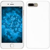Hardcase iPhone 8 Plus gummiert weiß