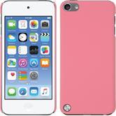 Hardcase iPod touch 5 / 6 gummiert rosa + 2 Schutzfolien