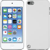Hardcase iPod touch 5 / 6 gummiert weiß + 2 Schutzfolien