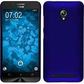 Hardcase Zenfone Go (ZC500TG) gummiert blau