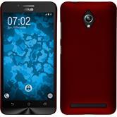 Hardcase Zenfone Go (ZC500TG) gummiert rot