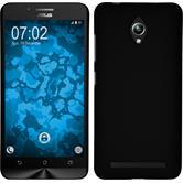 Hardcase für Asus Zenfone Go (ZC500TG) gummiert schwarz