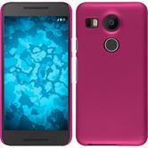 Hardcase Nexus 5X gummiert pink