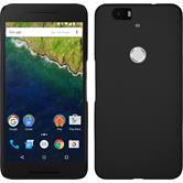 Hardcase Nexus 6P gummiert schwarz