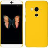 Hardcase Butterfly 3 gummiert gelb