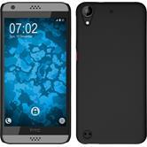 Hardcase für HTC Desire 530 gummiert schwarz