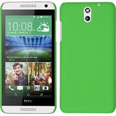 Hardcase for HTC Desire 610 rubberized green