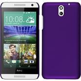 Hardcase for HTC Desire 610 rubberized purple