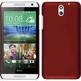 Hardcase for HTC Desire 610 rubberized red