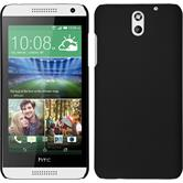 Hardcase for HTC Desire 610 rubberized black