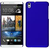Hardcase for HTC Desire 816 rubberized blue