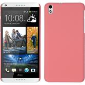Hardcase for HTC Desire 816 rubberized pink