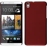 Hardcase for HTC Desire 816 rubberized red