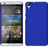 Hardcase Desire 820 gummiert blau + 2 Schutzfolien