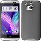 Hardcase for HTC One M8 metallic silver