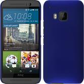 Hardcase for HTC One M9 rubberized blue