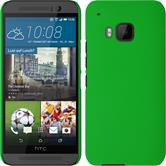 Hardcase for HTC One M9 rubberized green