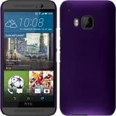 Hardcase for HTC One M9 rubberized purple