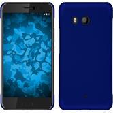 Hardcase U11 gummiert blau + 2 Schutzfolien