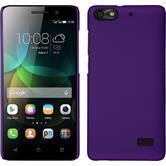 Hardcase für Huawei Honor 4c gummiert lila