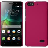 Hardcase für Huawei Honor 4c gummiert pink