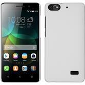 Hardcase für Huawei Honor 4c gummiert weiß