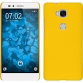 Hardcase Honor 5X gummiert gelb Case