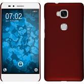 Hardcase für Huawei Honor 5X gummiert rot