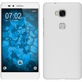 Hardcase für Huawei Honor 5X gummiert weiß
