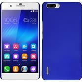 Hardcase für Huawei Honor 6 Plus gummiert blau