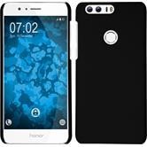 Hardcase für Huawei Honor 8 gummiert schwarz