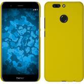 Hardcase Honor 8 Pro gummiert gelb + 2 Schutzfolien